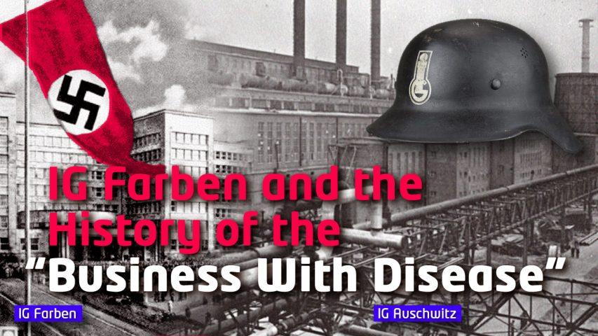 business crime corruption fascism Nazi war technology finance chemicals pharmaceuticals enablers genocide eugenics